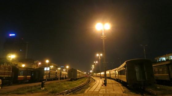 Sapa transport train nuit