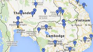 Voyage Asie Sud-Est - Thailand, Laos, Cambodge, Vietnam
