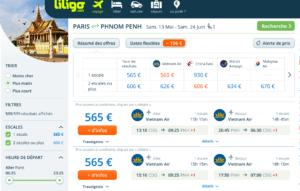 Liligo - Résumé des offres
