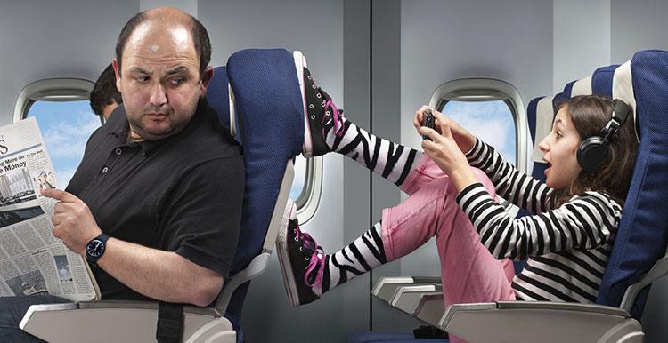 Billets d'avion pas cher - Confort en vol