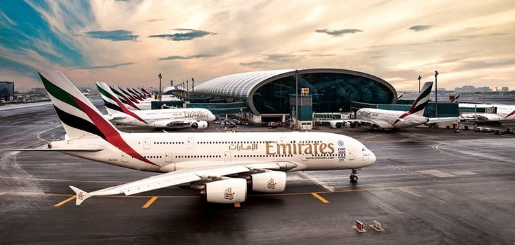 Emirates vol vers Phnom Penh via Yangon