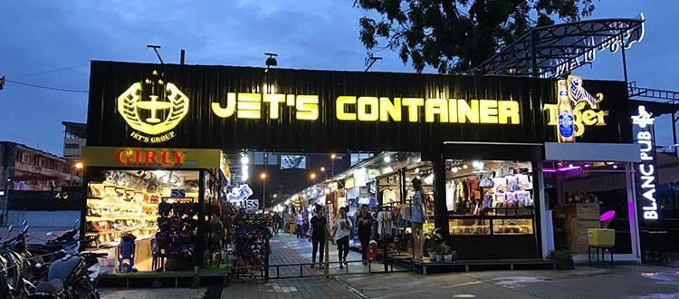 Jet's Container - Manger et boire dans un endroit original à Phnom Penh