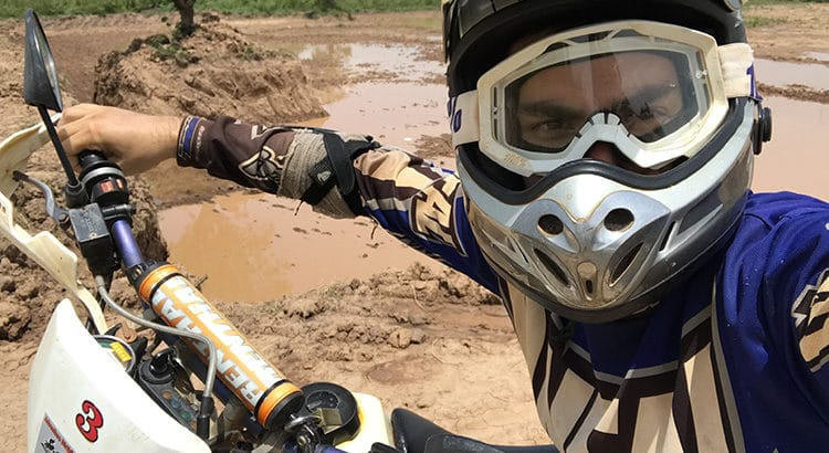 Motocross ou enduro off-road - Phnom Penh