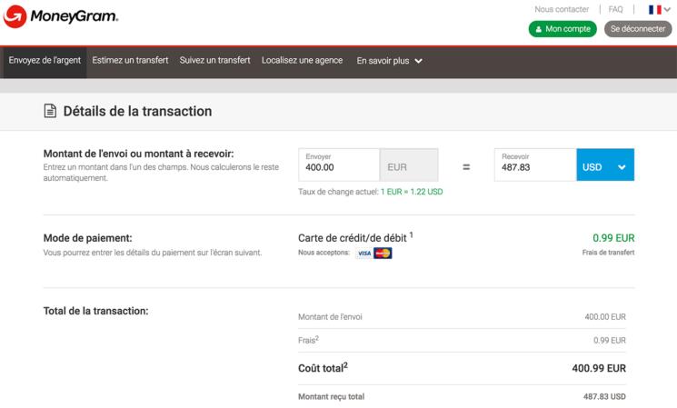 MoneyGram pas cher pour envoyer de l'argent au Cambodge